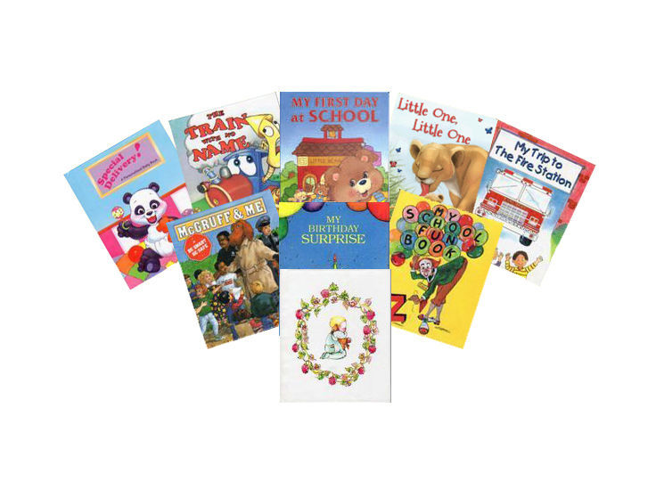 Personalized Childrens Books with Kids Music CDs